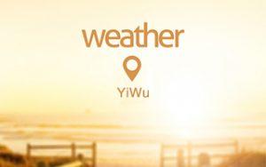 weather 300x188 - اولین سفر به ایوو Yiwu