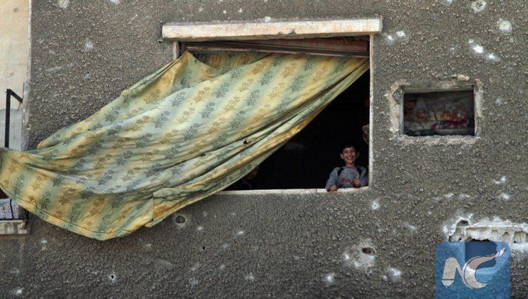 """سوری ها در دمشق """"دوما"""" برای زندگی میکوشند"""