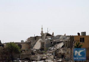"""CcrbeeE005022 20180421 CRMFN0A005 11n 300x210 - سوری ها در دمشق """"دوما"""" برای زندگی میکوشند"""