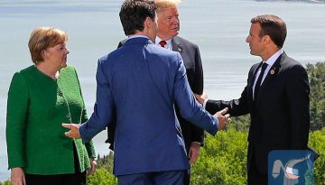 شروع اجلاس G7 میان ایالات متحده