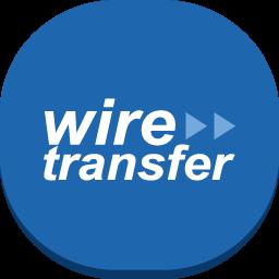 wire transfer icon - نقد کردن درآمد ارزی