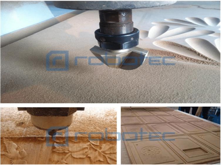 5 1 - دستگاه برش و چاپ CNC بر روی چوب و...